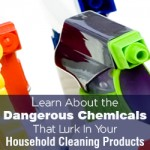 Learn About the Dangerous Chemicals That Lurk In Your Household Cleaning Products