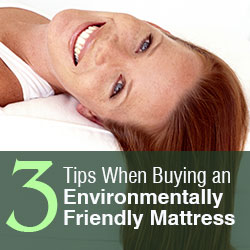 Environmentally Friendly Mattress