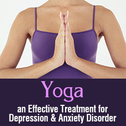 Yoga an Effective Treatment Depression and Anxiety Disorder